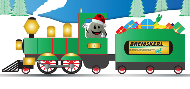 BREMSKERL Christmas train