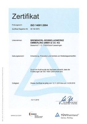 DIN EN ISO14001
