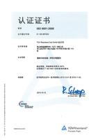 DIN ISO9001:2008 BK China Bild