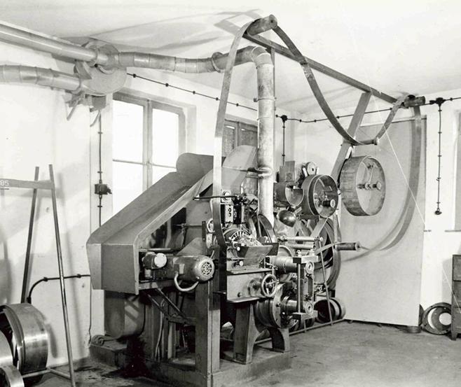 1929-1937 alte Walzerei