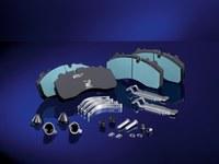 BK8010 CV disc brake pads