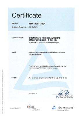 DIN EN ISO 14001:2004