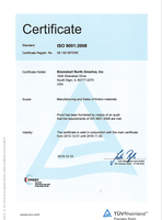 BK NA ISO 9001:2008 picture