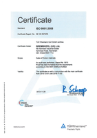 DIN ISO9001:2008 BK UK picture