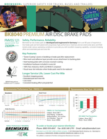 BREMSKERL Air Disc Brake Pads picture