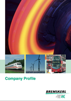 Company profile deckblatt
