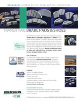 Transit Rail Brake Pads & Shoes Picture Frontpage