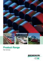 Product Range Rail vehicles picture
